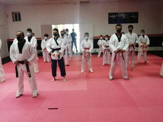 I Aniversario do novo local da Escola Leam de artes marciais de Ponteareas
