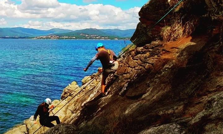 Damian Rodríguez monitor de deportes de aventura