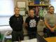 """Martín Acuña eJuan José """"CHARANGO"""", Técnicos deportivos das Escolas Municipais do Concello de Salceda de Caselas, e Manuel Ramiro, Colaborador Das Escolas Deportivas"""